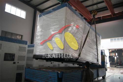 出口印尼1台800KW康明斯静音机组今日成功出厂 发货现场 第2张