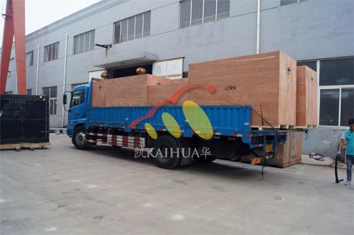 出口南美7台康明斯静音机组今日成功出厂 发货现场 第4张