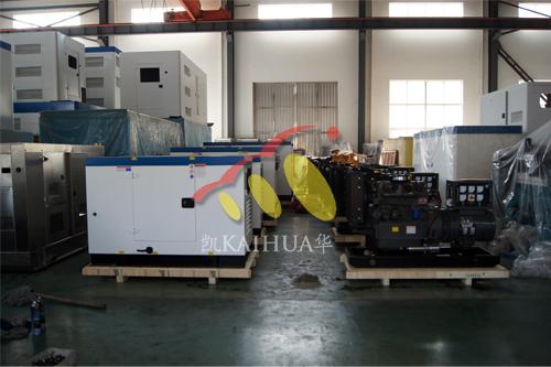 欧洲一批康明斯发电机组今日成功出厂 发货现场 第1张