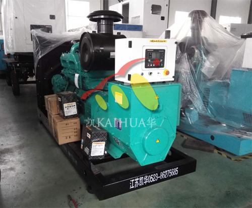 江西2台开架发电机组今日成功出厂 发货现场 第1张