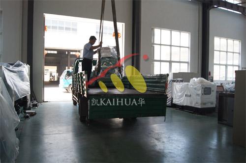河南水利局4台20KW玉柴发电机组今日成功出厂 发货现场 第2张