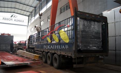 贵州2台康明斯发电机组成功出厂 发货现场 第3张