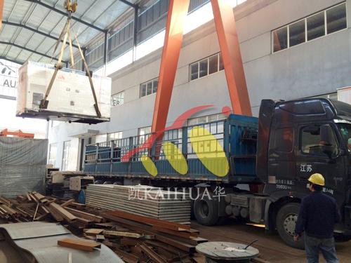 湖南2台200KW沃尔沃ATS静音机组今日成功出厂 发货现场 第2张