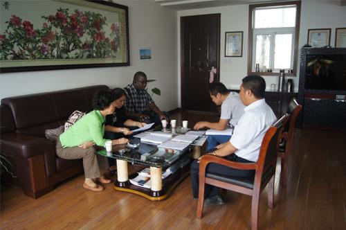 泰国客户今日来我工厂实地考察 公司新闻 第1张