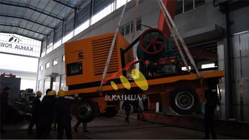 杭州2台移动式静音泵站机组成功出厂 发货现场 第3张