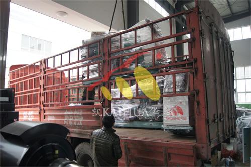 宁夏电力工程3台50KW康明斯ATS机组今日成功出厂 发货现场 第2张