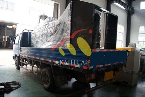 南京1台400KW康明斯机组今日成功出厂 发货现场 第3张