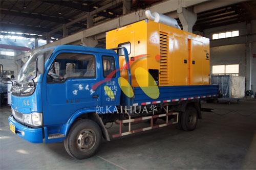 湖南400KW康明斯防雨罩机组今日成功出厂 发货现场 第3张