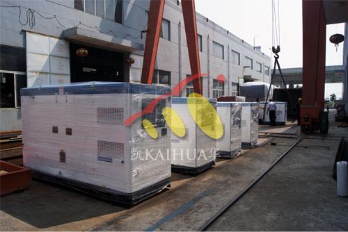 菲律宾5台康明斯静音机组今日成功出厂 发货现场 第2张