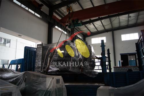 山西1台500KW上柴发电机组成功出厂 发货现场 第2张