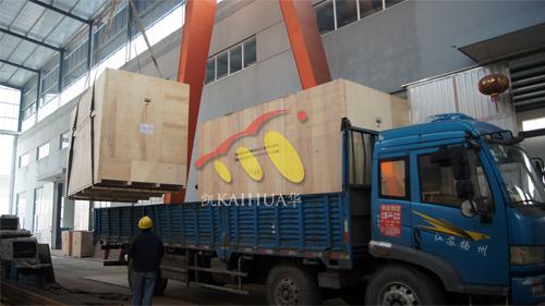 出口2台400KW康明斯防雨罩机组今日成功出厂 发货现场 第2张