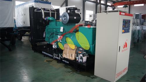河南银行500KW康明斯全自动机组今日成功出厂