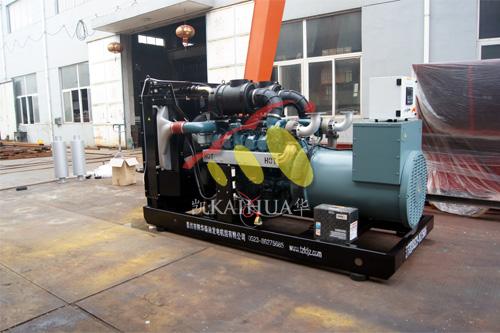 上海1台500KW大宇发电机组今日成功出厂