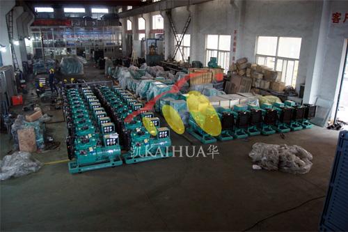 河南水利局一批潍坊柴油发电机组今日成功出厂 发货现场 第1张