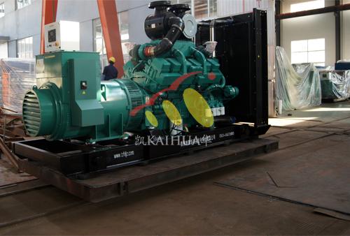 沈阳1台600KW康明斯发电机组今日成功出厂 发货现场 第1张