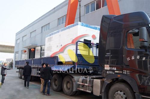 出口伊朗1台550KW康明斯静音机组今日成功出厂 发货现场 第3张