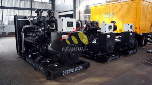 甘肃3台上柴发电机组今日成功出厂 发货现场 第1张