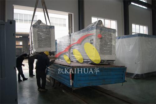无锡重工4台50KW康明斯防雨罩机组今日成功出厂 发货现场 第2张