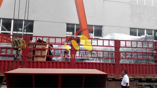 云南昆明2台康明斯机组今日成功出厂 发货现场 第3张