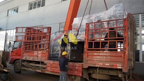 甘肃3台上柴发电机组今日成功出厂 发货现场 第2张