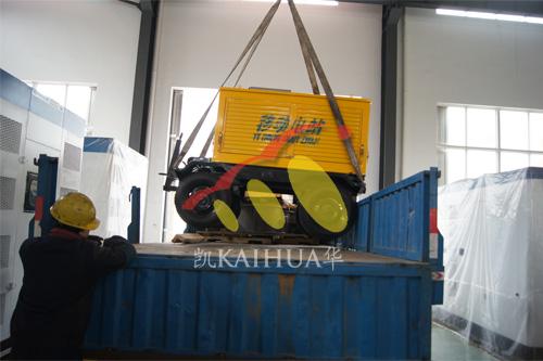 出口南非3台康明斯发电机组今日成功出厂 发货现场 第2张