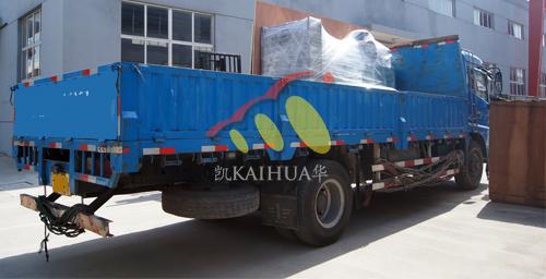 西藏1台300KW康明斯发电机成功出厂 发货现场 第2张