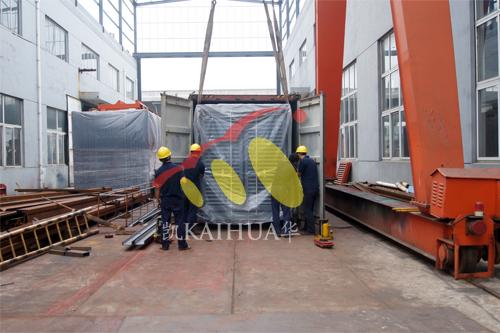 东南亚400KW康明斯集装箱式发电机组今日成功出厂 发货现场 第2张