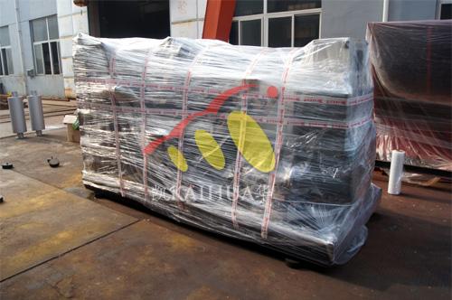 上海1台500KW大宇发电机组今日成功出厂 发货现场 第2张