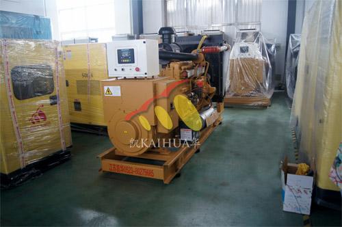 重庆食品公司1台250KW上柴发电机组今日成功出厂 发货现场 第1张