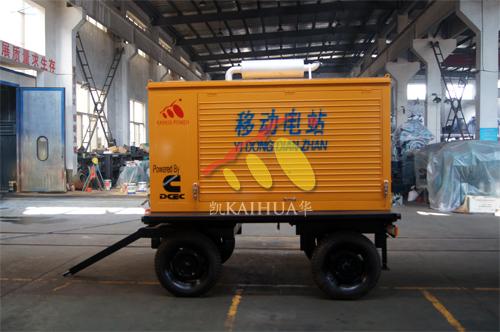 江西1台康明斯发电机组成功出厂 发货现场 第1张