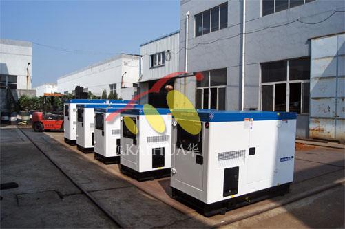 菲律宾5台康明斯静音机组今日成功出厂 发货现场 第1张