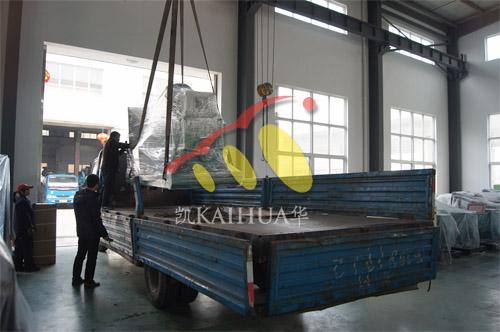 杭州1台300KW康明斯机组今日成功出厂 发货现场 第2张