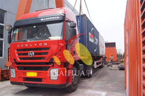出口埃塞俄比亚2台200KW康明斯机组成功出厂 发货现场 第4张