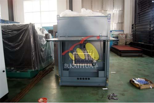 四川中海油一台200KW康明斯静音机组今日成功出厂 发货现场 第1张