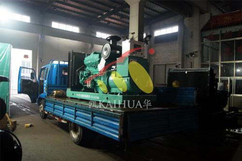 江苏纺织厂1台300KW康明斯发电机组今日成功出厂 发货现场 第3张