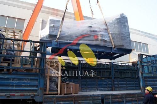 西藏阿里1台900KWMTU发电机组今日成功出厂 发货现场 第3张
