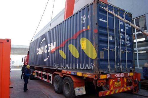 出口西非6台康明斯静音机组今日成功出厂 发货现场 第5张