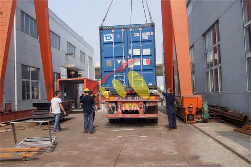 出口俄罗斯1台1000KW康明斯发电机组今日成功出厂 发货现场 第3张