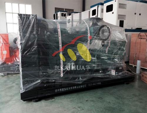 出口苏丹1台300KW康明斯发电机组今日成功出厂 发货现场 第2张