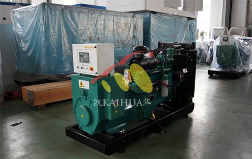 广西1台康明斯发电机组今日成功出厂 发货现场 第1张