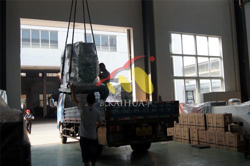 浙江2台康明斯机组今日成功出厂 发货现场 第3张