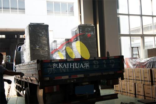 浙江2台康明斯机组今日成功出厂 发货现场 第4张