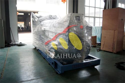 西藏阿里1台900KWMTU发电机组今日成功出厂 发货现场 第1张