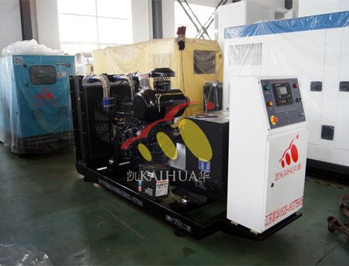 湖南1台上柴发电机组成功出厂 发货现场 第1张