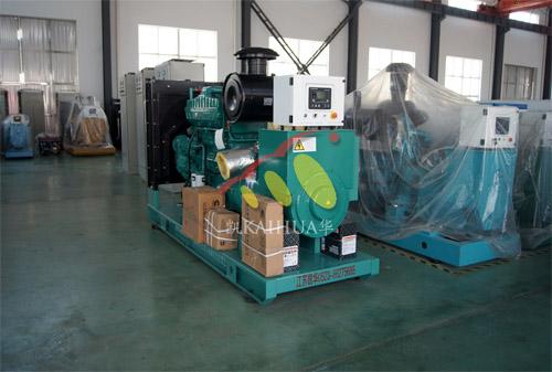 昆山国际学校1台300KW康明斯机组今日成功出厂 发货现场 第1张