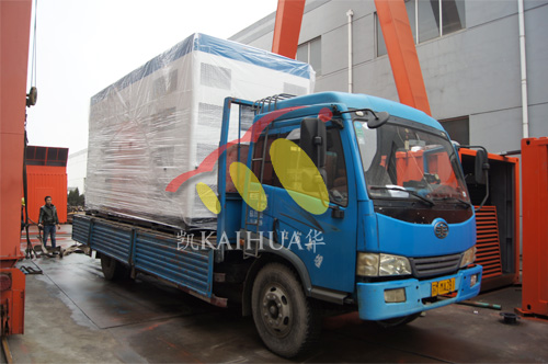 出口印尼1台800KW康明斯静音机组今日成功出厂 发货现场 第3张