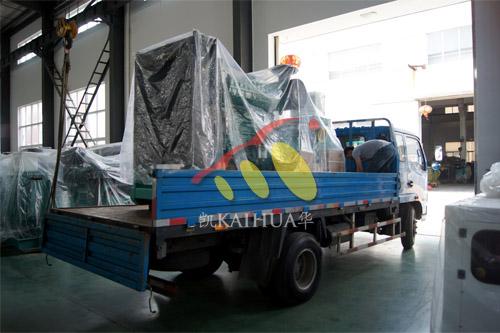 昆山国际学校1台300KW康明斯机组今日成功出厂 发货现场 第3张
