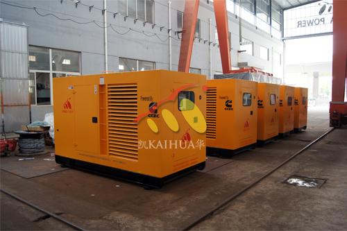 马来西亚5台康明斯防雨罩机组今日成功出厂
