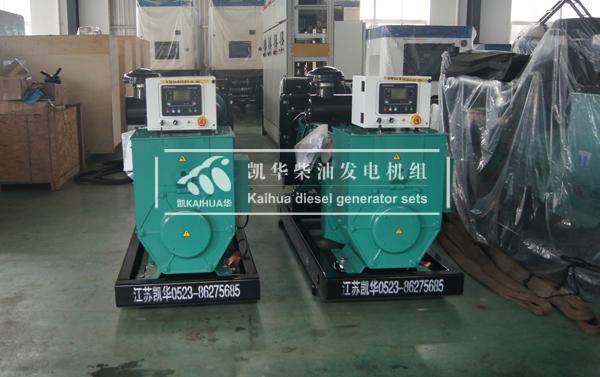 上海消防两台康明斯发电机组成功出厂 发货现场 第2张