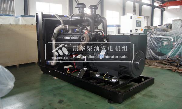 杭州外企500KW上柴发电机组成功出厂 发货现场 第2张
